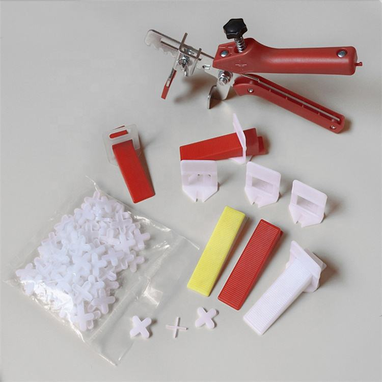 Hot Sale Kunststoff clips und Wedges Anti-Lippage Tile Level ing System Kit