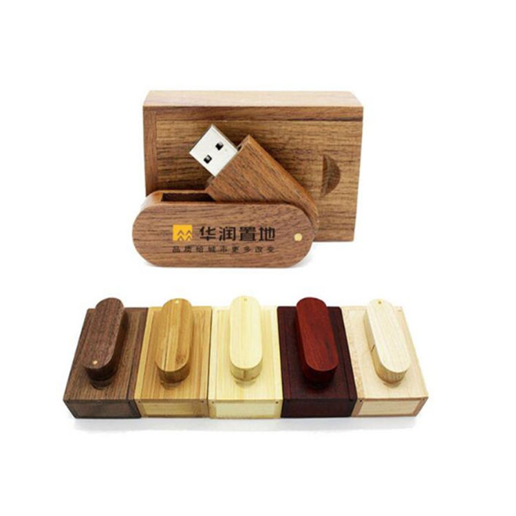 OEM gift swivel usb flash drive wood,bamboo wood usb disk stick,usb 2.0/3.0 pendrive logo custom usb thumb drive