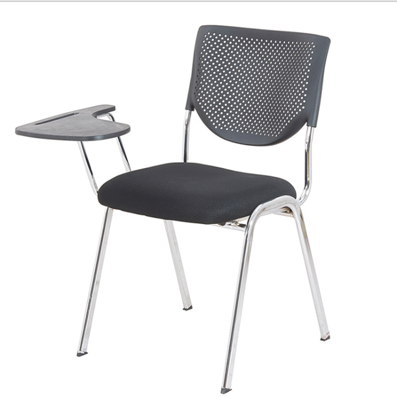 office foldable chair with writing table conference chairs stacking chair