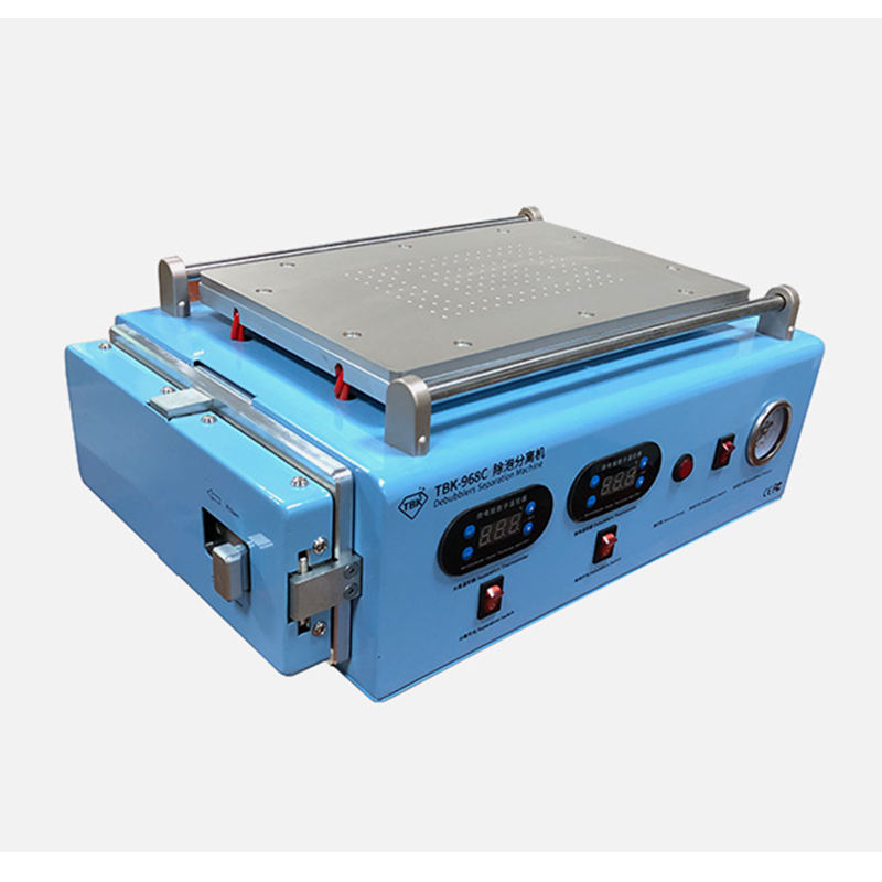 LCD 2 in 1 TBK 968C LCD Screen Separator 12 inch heating separate with autoclave OCA debubble screen separating machine