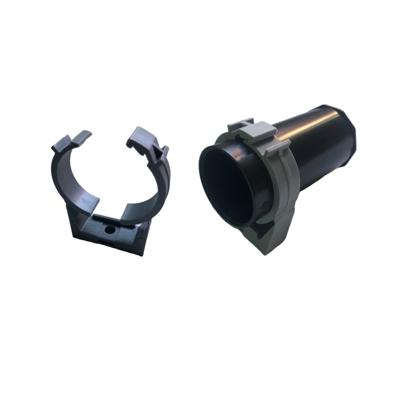 high quality customized Cheap price quick locking round adjustable plastic molding injection factory pipe hose clamps