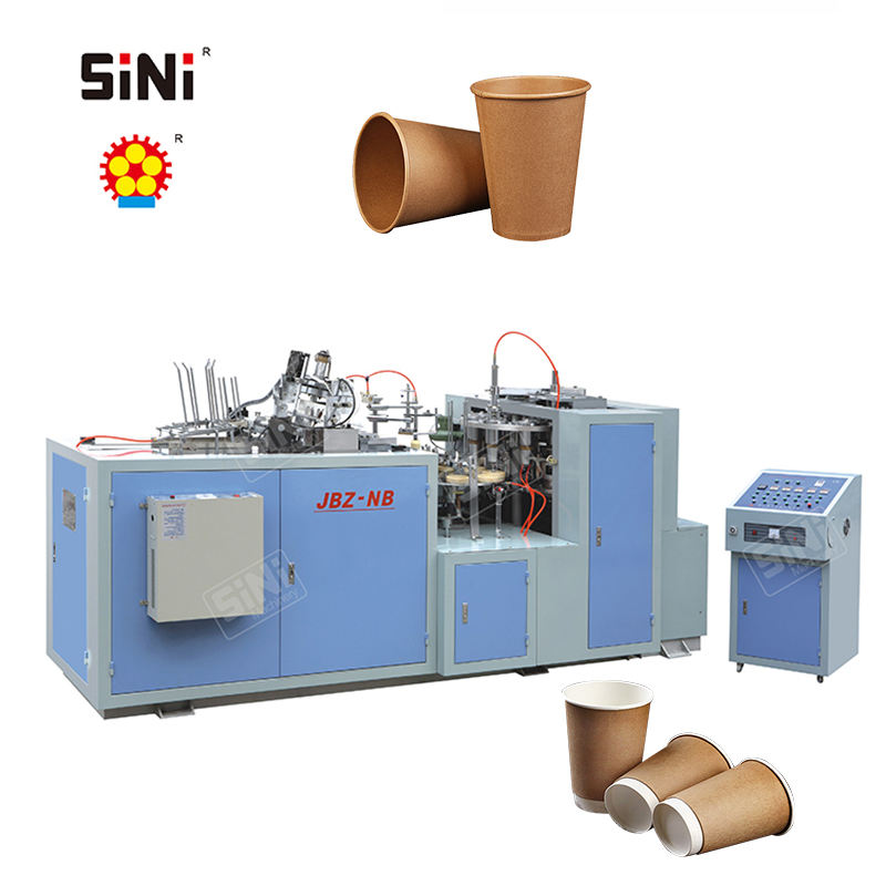 JBZ-NB Carton Disposable Coffee Cup Machinery Paper Cups with Handle Making Forming Machine