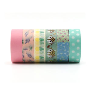 Washi Masking Tape Custom Decoration