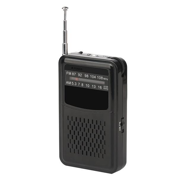 Factory direct selling price mini simple design battery operated pocket am fm radio for sale