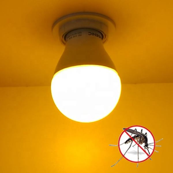 E27 1500lm Yellow Light Lamp Led Mosquito Repellent Bulb