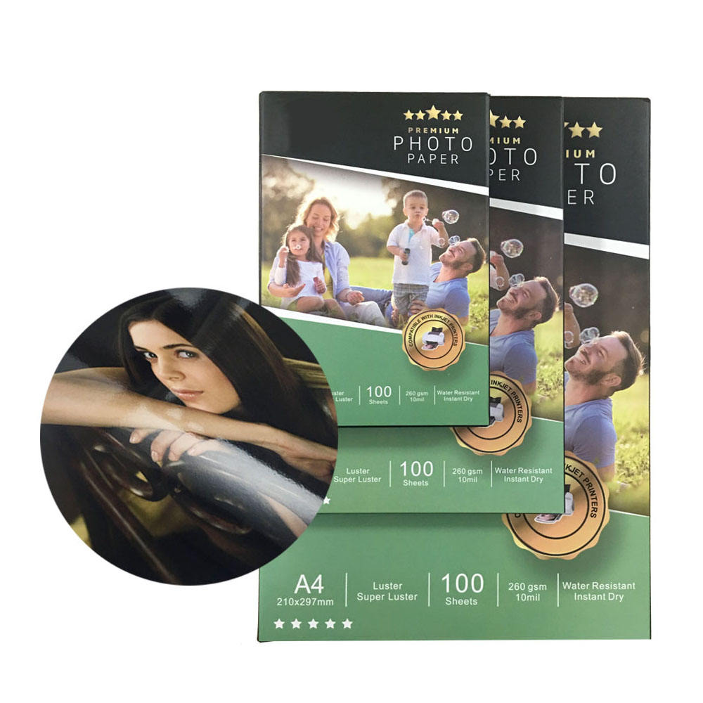 Daily Life Inkjet Printing Photo Paper Matte Coated 180gsm in A3, A4 sheets