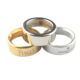 Precision CNC Machining Plastic Metal Custom Stainless Steel Silicone Silver Gold Ring