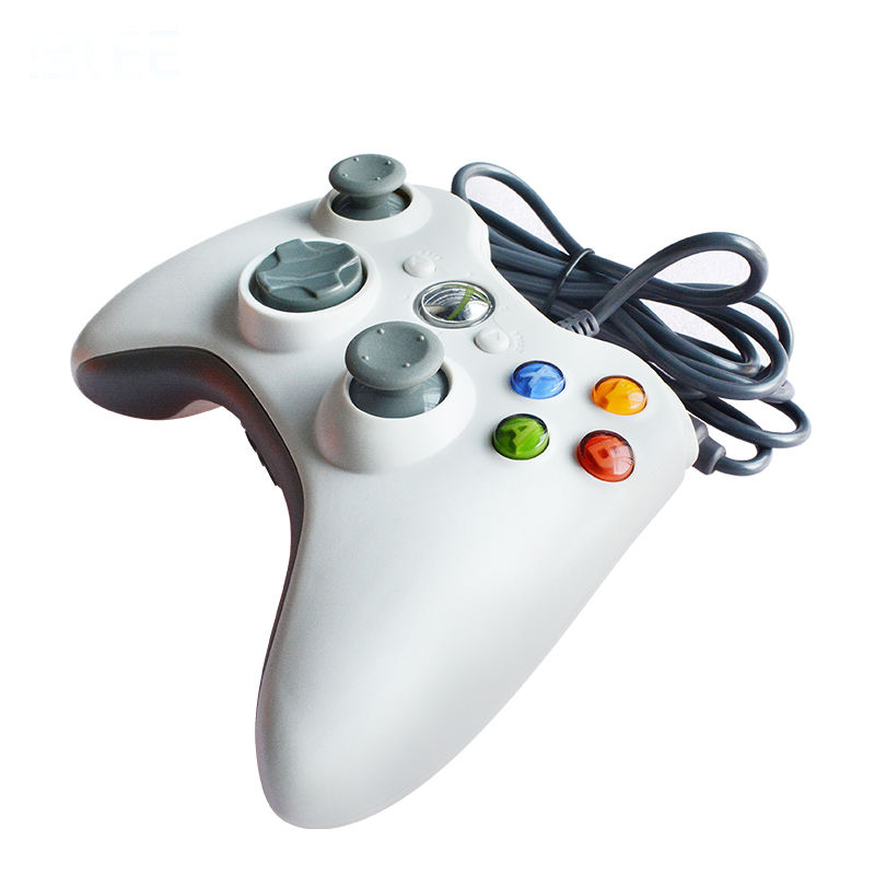 Xbox 360 Controller Wired Joystick Joy Pad USB Game Pad Controller For PC