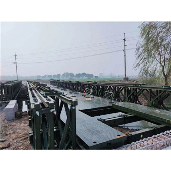 Used portable steel truss bailey bridge construction/bailey bridge for sale