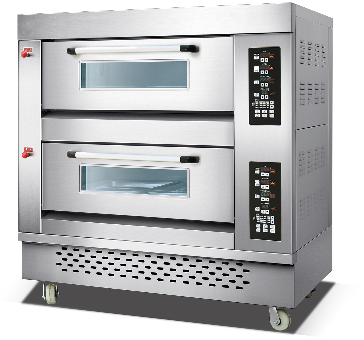High quality commercial bread deck oven high-speed toaster oven 3 deck 6 trays deck baking oven
