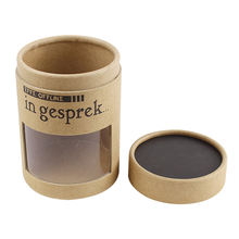 Reputed Exporter of Kraft Paper Made Tea Packaging Box/Can