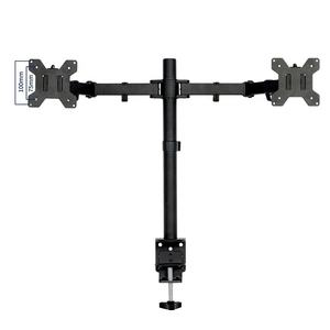 Adjustable laptop lcd LED monitor arm display mount double arm