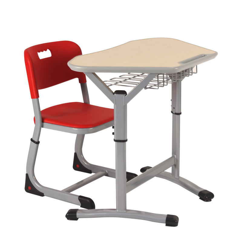 Height adjustable school furniture student desk with wholesale price