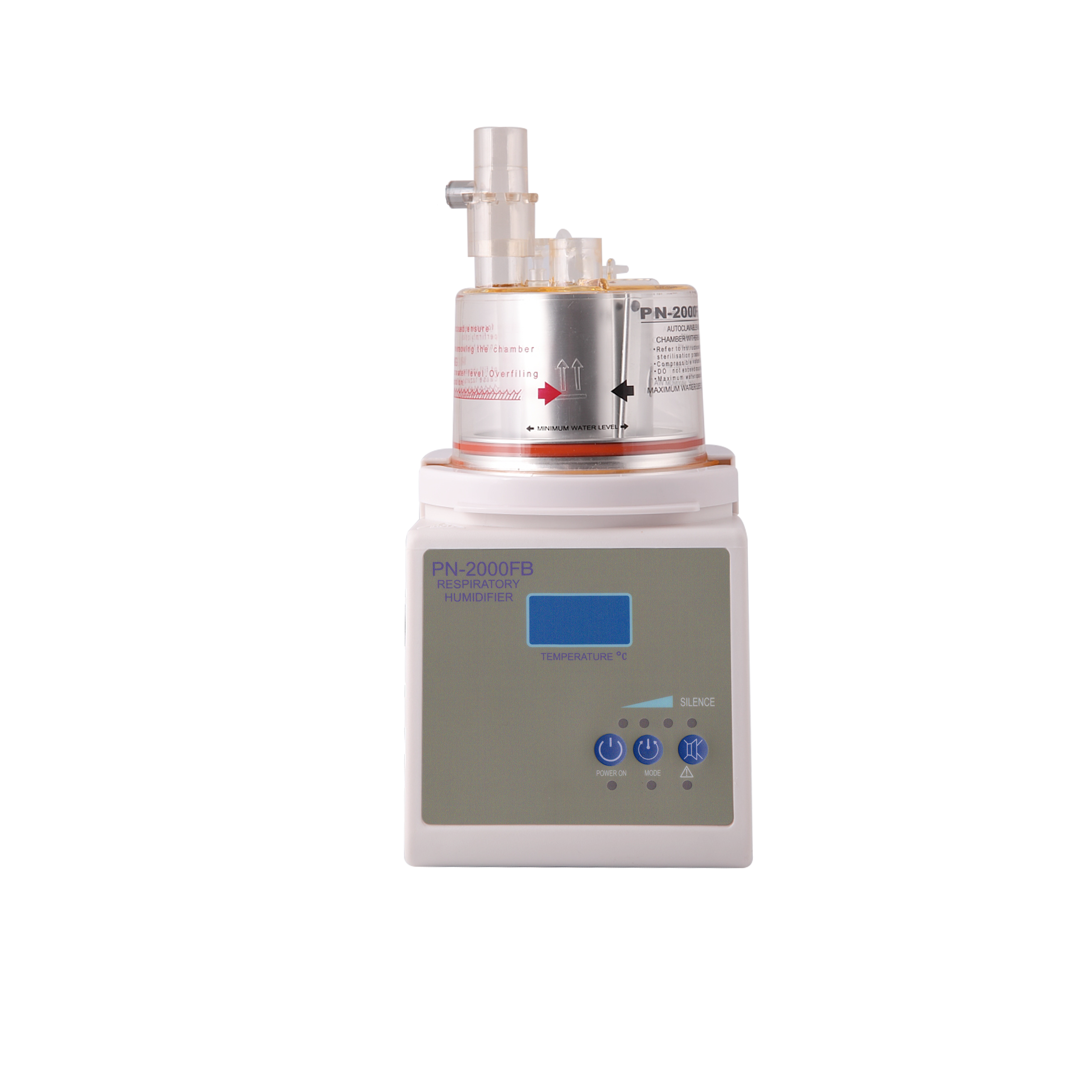 Medical Servo Controlled Respiratory Humidifier for Mechanical Ventilation or High Flow Oxygen Therapy for hospital equipment