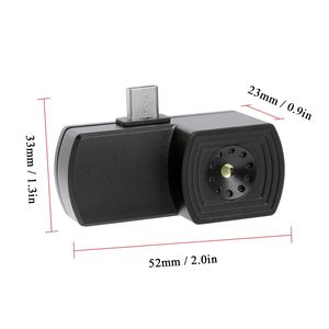 2019 New design in stock HT-101 220*160 resolution IR thermal camera Android