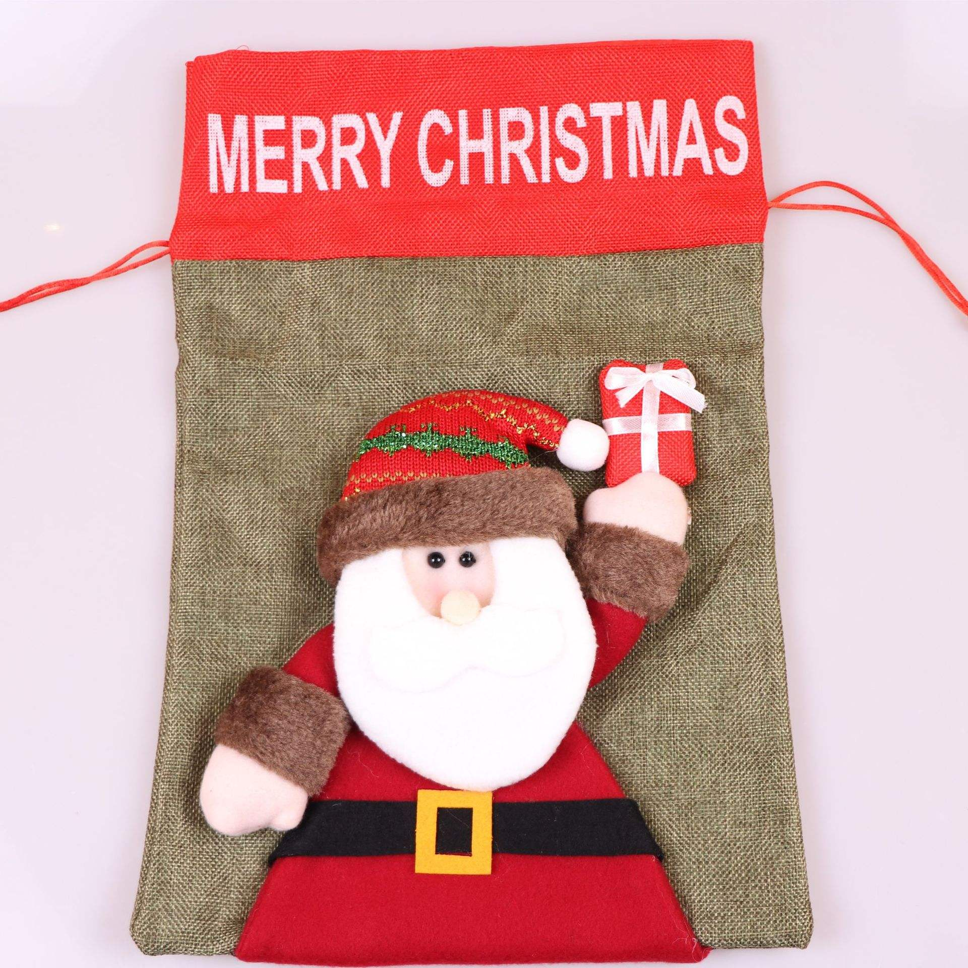 High Quality Customizable Candy Felt Christmas Gift Bag