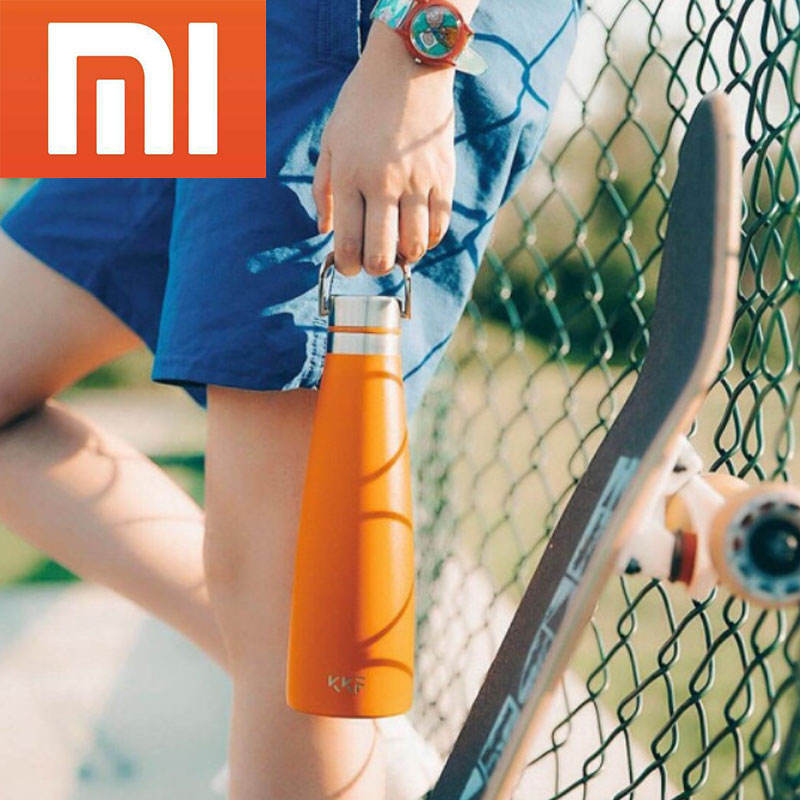 Xiaomi Youping KishKishFish KKF Vacuum Thermo Cup 475ML Travel Mug 24 Hours Water Bottle Thermos S-U47WS