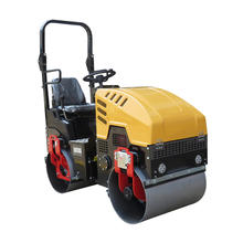 SYL-880 Hydraulic Double Drum Drive 1 Ton Vibratory Road Roller Compactor Machine for Asphalt and Soil for Sale