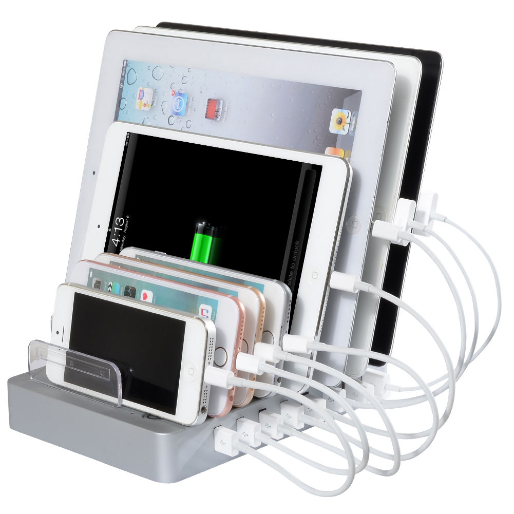 Opladen Dock Station Docking Universal Multi Poorten Usb Charger Voor Iphone Voor Samsung
