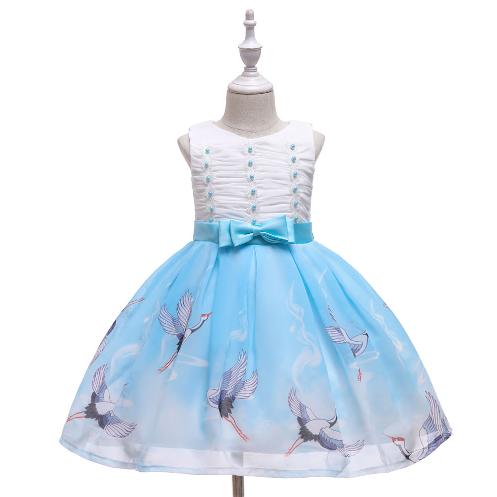 Christmas Party Kids Dress wedding Princess dress baby for girls