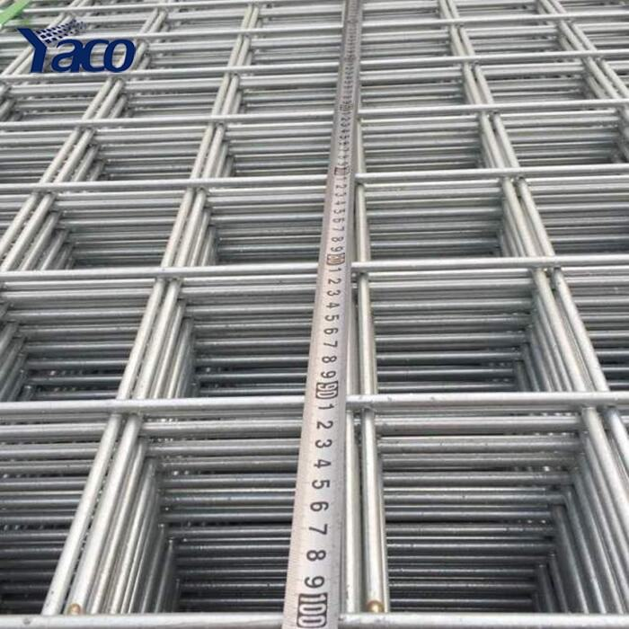 4x4 5x5 welded wire mesh fence panels in 6 gauge