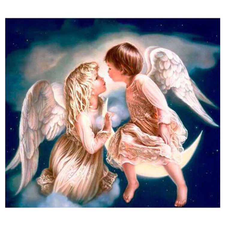 5D DIY Diamond Painting Full Square/Round Drill Guardian Angel Baby Diamond Embroidery Cross Stitch Mosaic Home decoration Gifts
