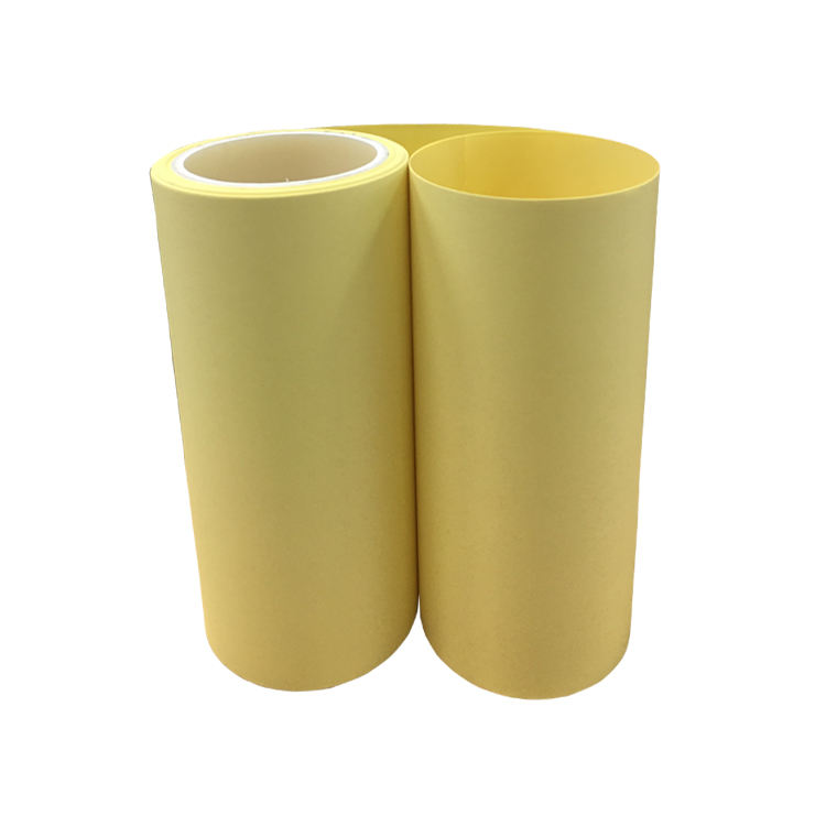 Waterproof 90グラムSilicone Coated Yellow Kraft Paper Roll