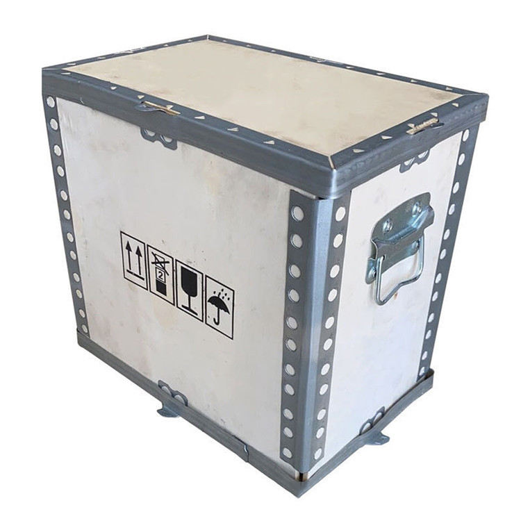 2020 Wholesale Cheap Price Logistics Plywood Box Fumigation-Free Wooden Crate With Handle