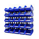 manufacture stackable warehouse heavy duty plastic parts bin storage