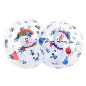 ขายร้อน PVC Inflatable Christmas Inflatable Beach Ball ลูกสนุก