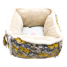 Wholesale Fashion Luxury Washable Soft Warm Comfortable Hanging Pet Dog Cat Bed With Removeable Pad