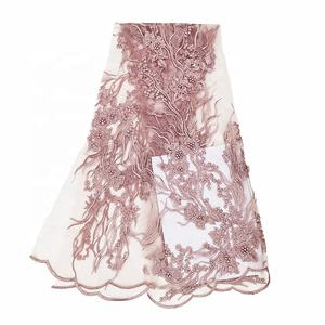 wholesale stocks sample ghana cheap high quality african lace fabric