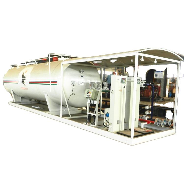 Manufacturer direct supply 25000 liters lpg skid station