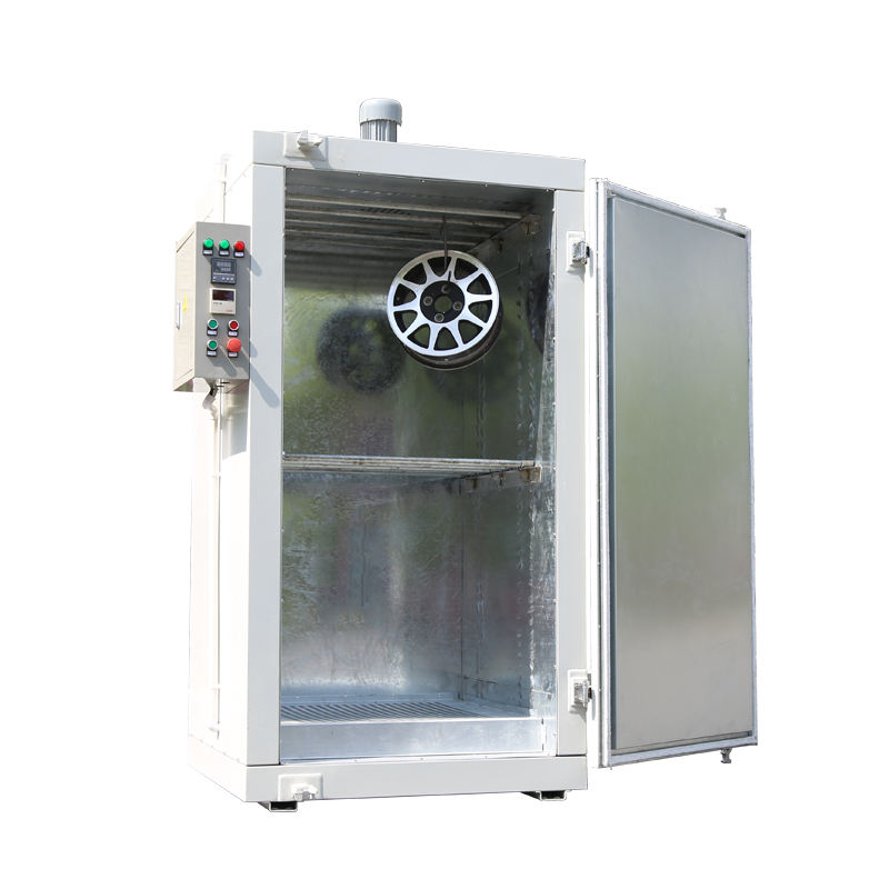 Epoxy Kleine Aluminium Poedercoating Oven Machines