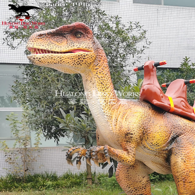 Dinosaur Rides Amusement Park And Rides Hualong Dino Works Amusement Park Remote Control Dinosaur Rides Manufacturer