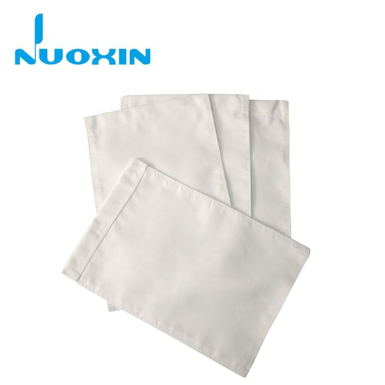 high quality 600D polyester plain white flag double sided sublimation garden flag blank