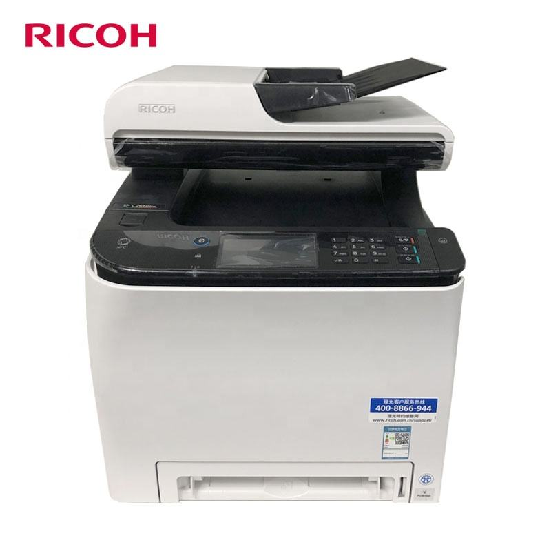 Ricoh A4 multifunctional color printer copier SP C261SF machine print scan fax