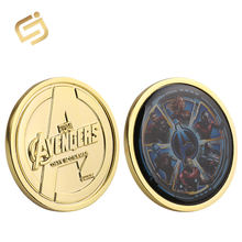 Professional custom popular movie superhero derivative game prize challenge coin