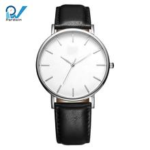 Stainless steel  quartz movement custom logo watches minimalist watch