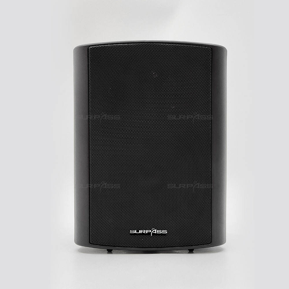 Active Wall Mount Speakers Stereo WiFi PA Sound System Loudspeakers Outdoor Wall Hanging Big Powered Speakers