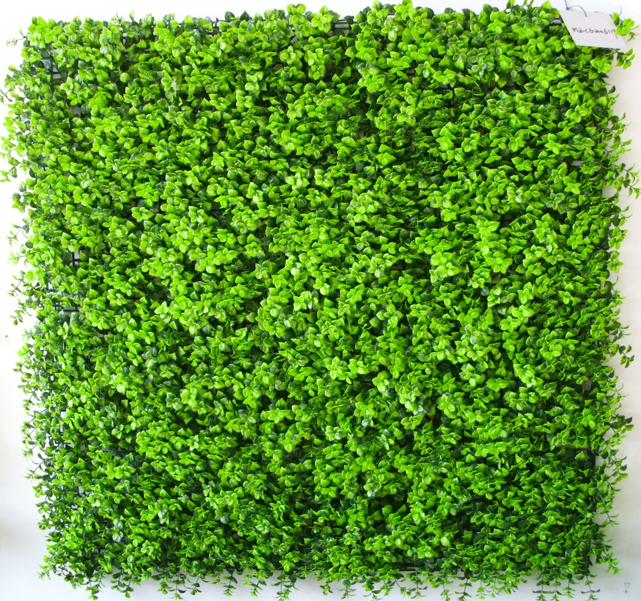 Artificial Garden Wall MZ188004 Artificial Ivy Screen Privacy Leaf Fence With Willow Trellis For Garden And Wall