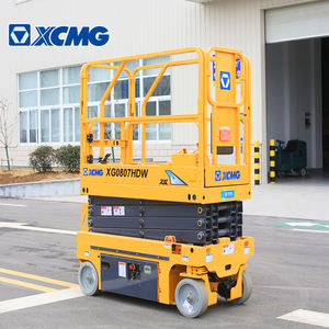 XCMG official 8m mini scissor lift XG0807HDW aerial work platform