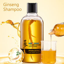 500ML Best Quality Ginseng Bio Plant Hair Growth Organic  Growth Organic Shampoo Products