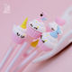 Silicone [ Princess Gel Pen ] Hot Wholesale Excellent Quality Examination Cute Princess Cake Gel Ink Pen Set