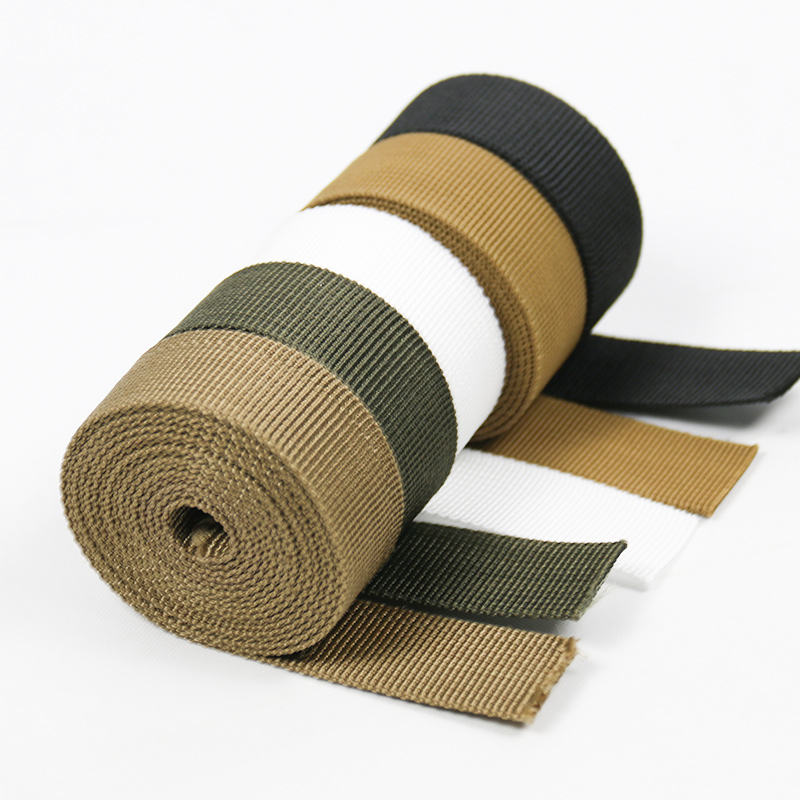 Chinese Factory Direct Sale Luggage Sports Equipment Tactics Equipment Material Strap Woven 25mm Nylon Webbing