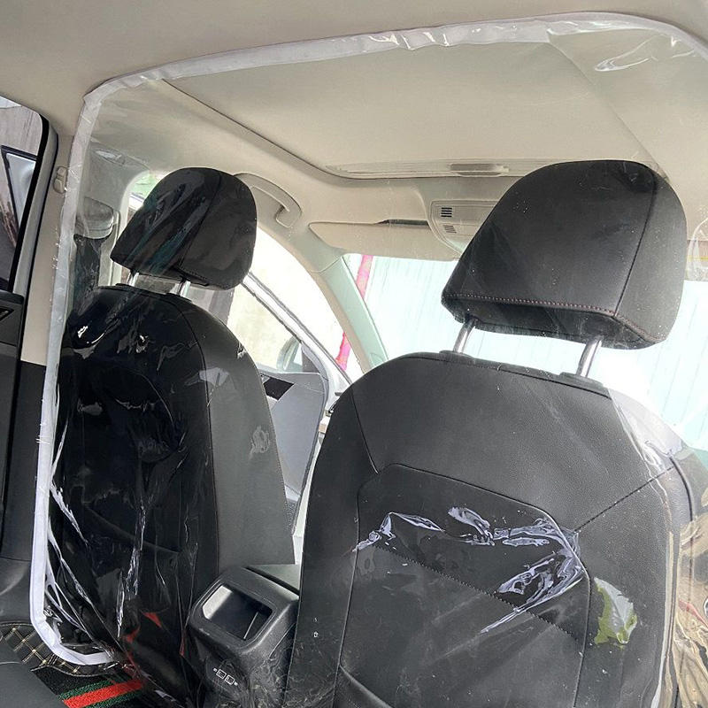 Car Taxi Isolation Film Plastic Partition Anti-Fog Full protective cover