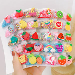 Cute Fruit Hair Accessories Colorful BB Clip Lovely Hair Clip For Kids