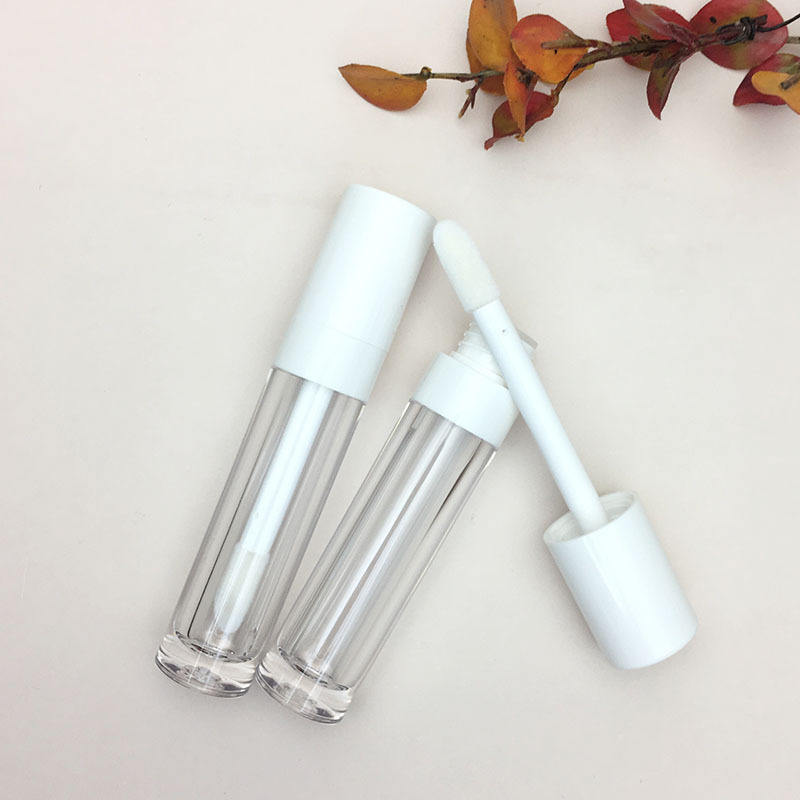 Groothandel Custom Logo 10Ml Lipgloss Tube Ronde Lipgloss Buizen Grote Capaciteit Witte Lipgloss Wand Buizen