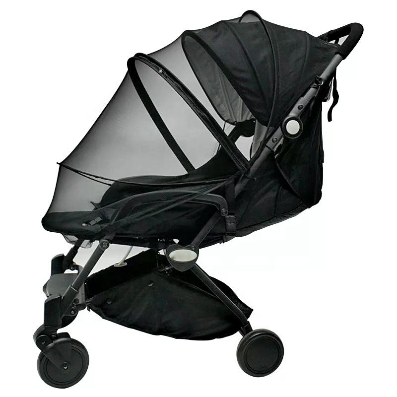 Baby stroller mosquito net universal baby stroller accessories summer mosquito full zipper mosquito net