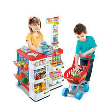 Pretend kitchen play set Kids supermarket toy